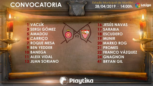 #GironaSevillaFC