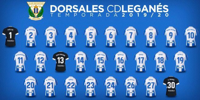 Dorsales Lega temporada 2019-2020
